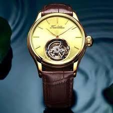 Tourbillon Watch <b>GUANQIN</b> Original watch Skeleton <b>mechanical</b> ...