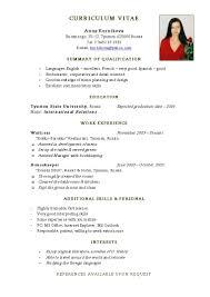 resume templates examples standard format sample 81 marvelous work resume format templates