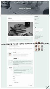 4 wordpress themes resume portfolio examples