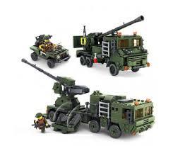 """<b>Конструктор KAZI</b> """"<b>Зенитные войска</b>"""" - 84039 – купить по ..."""