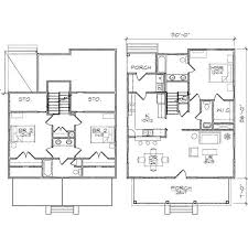 Astonishing Effective Two Story House Plans to Give More Spaces    Architecture Excellent Two Story House Plans With Three Bedroom Astonishing Effective Two Story House Plans to