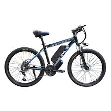 <b>SMLRO C6 electric</b> mountain bike 26 in