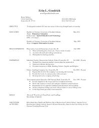 teacher cv help samples of teacher resumes