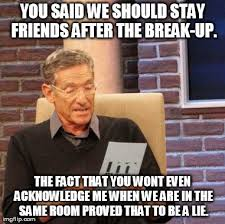 Months after the break up. - Imgflip via Relatably.com