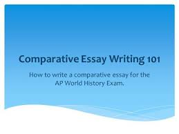 AP World History Comparison Essay Pinterest