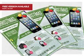 christmas business promotions flyer christmas business promotions flyer template