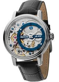 Наручные <b>часы Epos</b> с серебристым циферблатом. Оригиналы ...