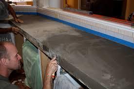 diy tile kitchen countertops: remodelaholic quick install of concrete countertops kitchen