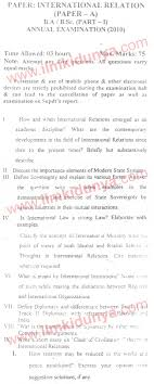 past papers peshawar university ba part international past papers 2010 peshawar university ba part 1 international relations paper a