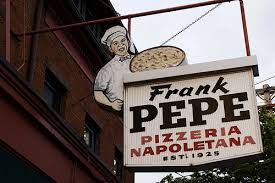 Image result for frank pepe pizzeria