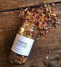 flowers in her hair | <b>nourishing</b> floral hair rinse / Plantfolk Apothecary