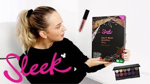 <b>SLEEK MAKEUP</b> ADVENT CALENDAR 2018 UNBOXING ...