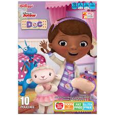 Kellogg's <b>Disney Junior</b> Doc McStuffins <b>Fruit</b> Snacks, 10 ct / 0.8 oz