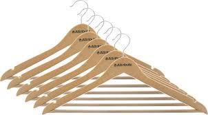 "<b>Набор вешалок</b> для одежды <b>Attribute</b> Hanger ""Classic"", прямые, 6 ..."