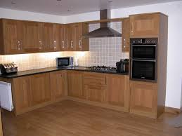 brown finished kitchen cabinets charming wooden kitchen cabinet doors design and white wall color kitc