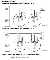 fire alarm system wiring diagram wirdig the diagram shows the two basic types of smoke detectors 2 wire and 4