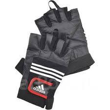 <b>Перчатки тяжелоатлетические Adidas</b> (кожа) - Другое во ...