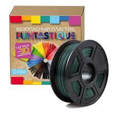 <b>Пластик PLA</b> для 3D-принтера Funtastique <b>темно</b>-<b>зеленый</b> 1.75 ...