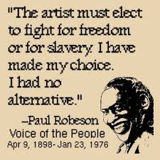 Paul Robeson POSTERS, TEE-SHIRTS, BUTTONS, and more