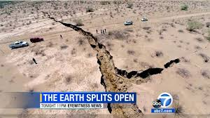 Image result for earthquake crevices