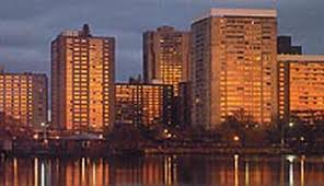 thats exactly what the planners did in boston the west end became charles river park hundreds of small buildings were replaced by fewer than a dozen big boston office space charles