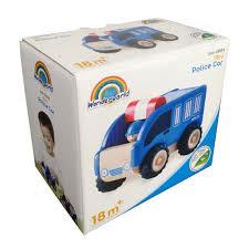 """<b>Деревянная игрушка</b> """"Полицейская машинка, <b>Miniworld</b>"""" — купить ..."""