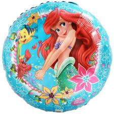 <b>Little Mermaid Balloon</b> - Characters - Foil - <b>Balloons</b>