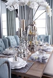 dining room khaki tone: from our fall winter entertaining guide neutral tones with pops of venetian blue and middot dining room