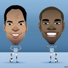 Absolute Jokers! Man Citys Richards and Lescott plead for a new contract from the chairman