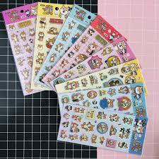 <b>45pcs</b>/<b>Pack Cute</b> Kawaii <b>Dog</b> Shiba Inu Decorative Washi Sticker ...