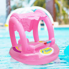 Safety <b>Inflatable Baby Swimming Ring</b> Float Seat Cartoon Infant ...