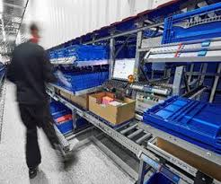 photo essay coops new automated warehouse in norway  packaging  coop picks small volume items with witrons dps directly into the shipping carton in both