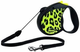 Поводок-<b>рулетка</b> для собак <b>Flexi Safari</b> S тросовый 5м 12 кг ...