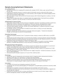 achievements in resume sample cipanewsletter sample of achievements