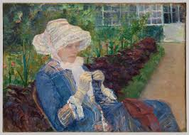 women artists in nineteenth century essay heilbrunn lydia crocheting in the garden at marly