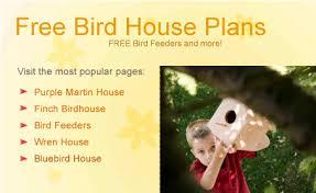 Bird House Plans   Free Bluebird House Plans  Purple Martin House    Free Bird House Plans