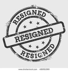 「resigned」の画像検索結果