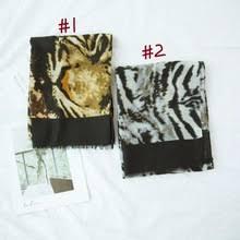 Брендовый модный шарф с леопардовым принтом, <b>накидка в</b> ...