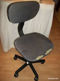 How To Recover An Old Office Chair  Have A Few Of Those Kicking Around  I