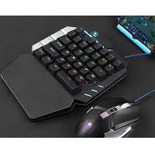 <b>K109</b> Wired 38 <b>Mechanical</b> Key Backlit Single Hand <b>Gaming</b> ...