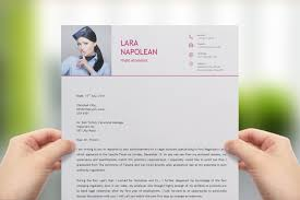 flight attendant resume template   modern cv   upcvupflight attendant resume template