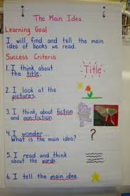 success criteria examples google search main idea success criteria