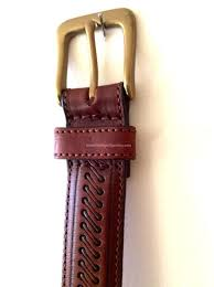 Belt <b>Vintage</b> Leather <b>Unisex Genuine Leather</b> Made in Canada ...