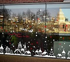 TOTOMO <b>Christmas</b> Window <b>Decorations Decals</b> - <b>Winter</b> Holiday