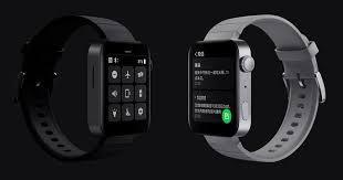 Xiaomi представила «<b>умные</b>» <b>часы</b>, похожие на <b>Apple Watch</b>, за ...