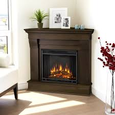 room decor corner fireplace