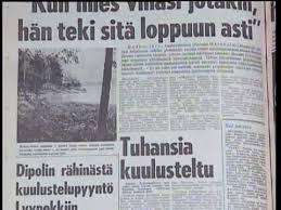 「Bodominjärven murhat」の画像検索結果