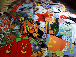 augusts autumn an early halloween pictorial e2 80 93 horror novel reviews die cut paper decorations office home office early