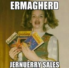 The January sales in memes | dotcomgiftshop blog via Relatably.com