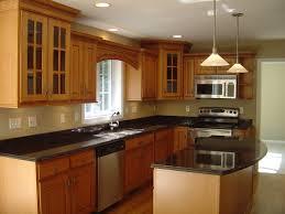 modern kitchen setup: kitchen modern kitchen equipment magnificent kitchen setup ideas brown wooden kitchen storage cabinets black marble